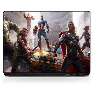 STICKERS Stickers pc ordinateur portable Avengers PC - 15 H