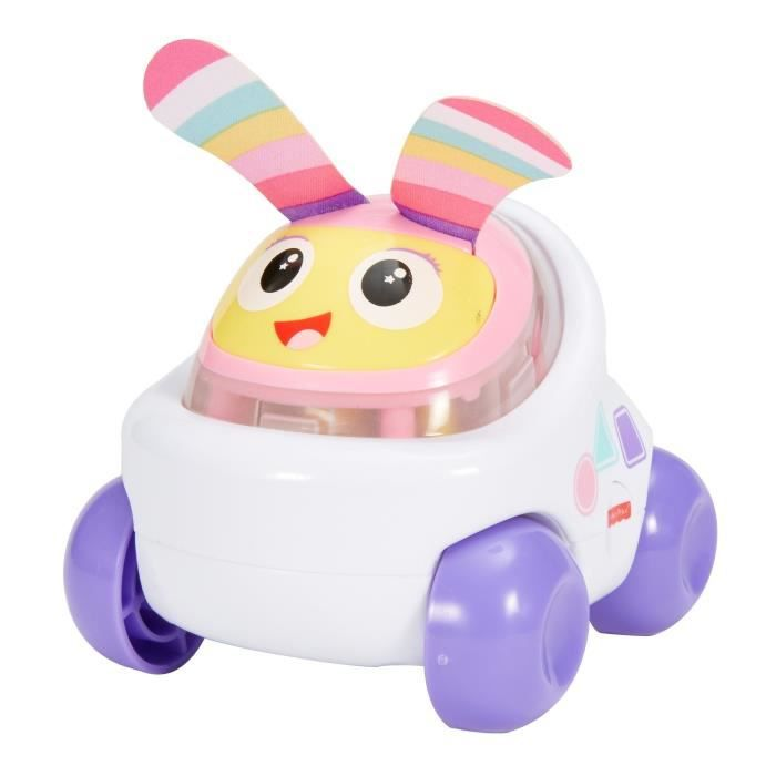 FISHER PRICE Voiture Bebo Mauve