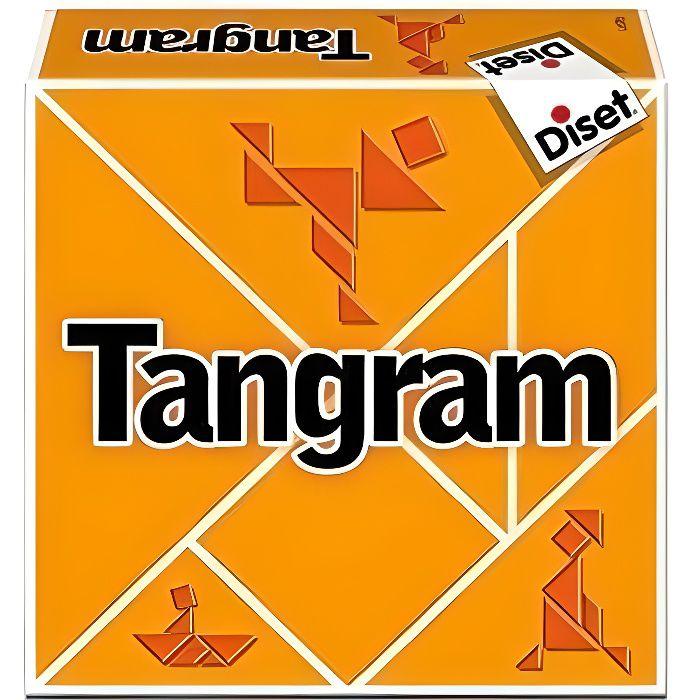 DISET Tangram - Garçon et Fille - A partir de 6 ans - Livré à l'unitéJEU D'APPRENTISSAGE