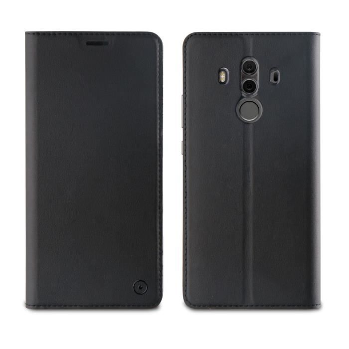 Muvit Etui folio stand Noir pour Huawei Mate 10 Pro 2017
