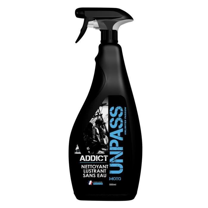 UNPASS Nettoyant sans eau avec microfibre en fourreau - 500 ml