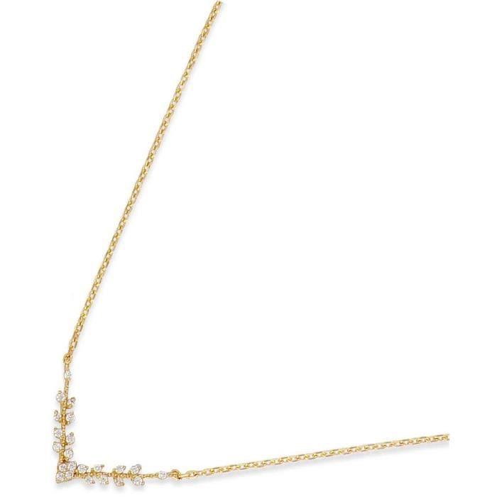 SF Bijoux - Collier plaqué or OZ (42+5 cm) - (301833-47)