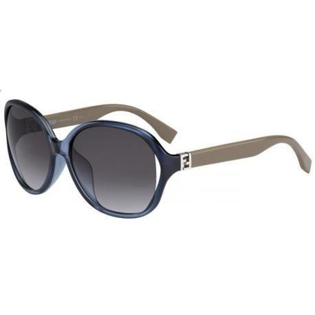 Achetez Lunettes de soleil Fendi Femme FF 0032 F S 7RB (9O) bleu gris boue 66de55f1d3f
