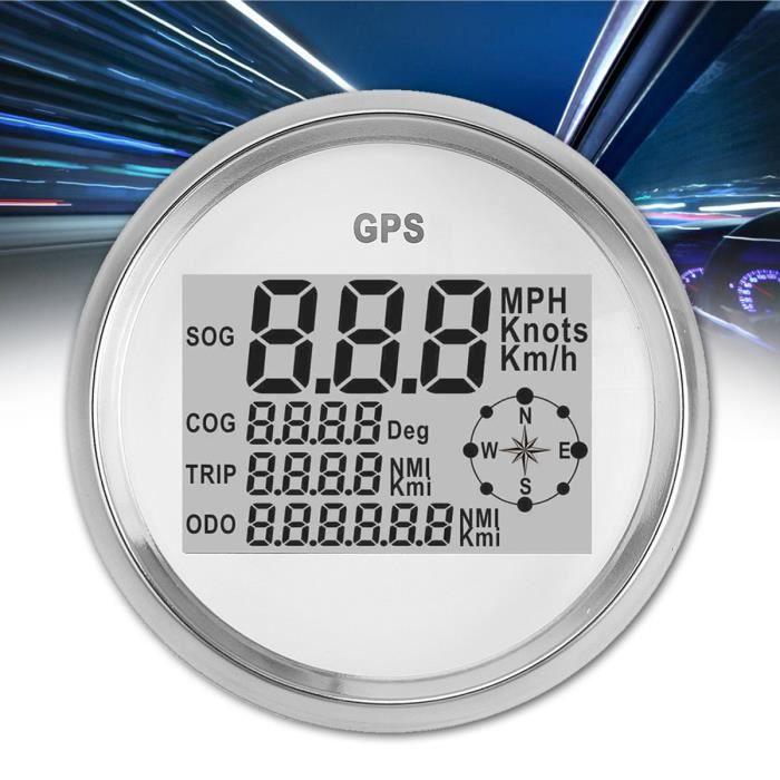 COMPTEUR TEMPSA Voiture GPS Compteur Vitesse Jauge Numériqu