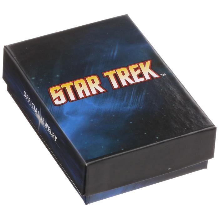 Star Trek Collier avec pendentif en acier inoxydable E2BEQ