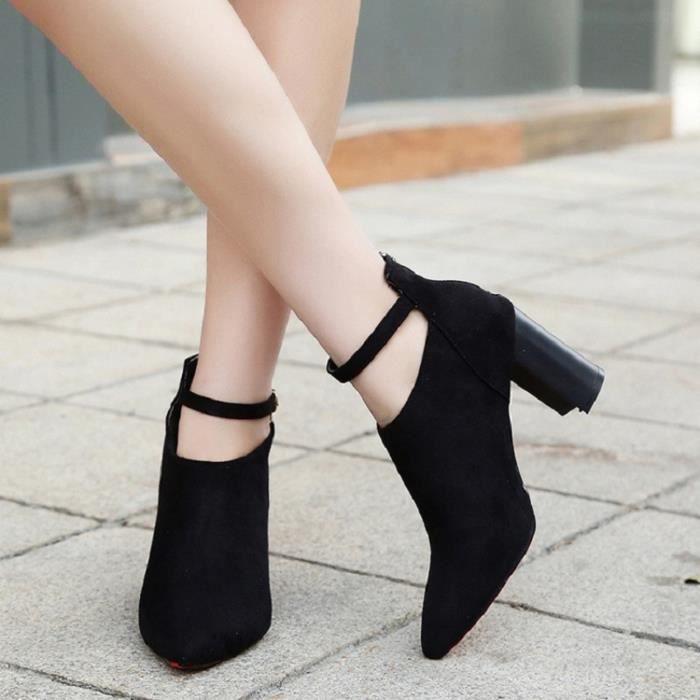 Escarpins femme Nouvellesà talons hauts Chaussures Femmes Pompes Chaussures de mariage HZ-XZ234