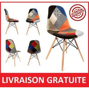 Chaise patchwork achat vente chaise patchwork pas cher for Ou acheter des chaises pas cher