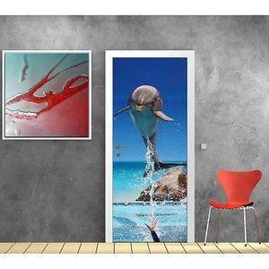Papier peint dauphin achat vente papier peint dauphin for Porte 83x204