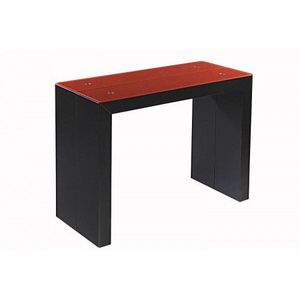 Table Console Extensible Cdiscount.Table Console Extensible Noir Rouge Achat Vente Console