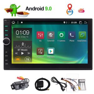 AUTORADIO Pur Android 9.0 Wifi Pie Car Stereo Radio Support