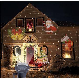 dcoration lumineuse 6w extrieur nol mouvement lampe laser projecteur - Deco Exterieur De Noel