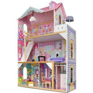 MAISON POUPÉE Grande maison de poupée avec ascenseur