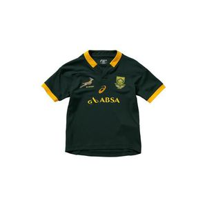 T shirt Junior Asics Springboks Home Match Jersey (f) Prix