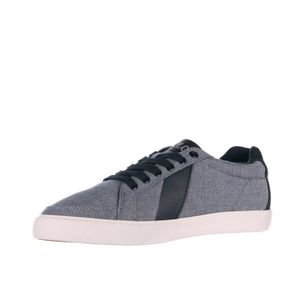 0fcf78404f73 BASKET Chaussures baskets sneakers homme en coton hugh Po. Chaussures  baskets sneakers homme en coton hugh Polo Ralph Lauren