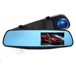 BOITE NOIRE VIDÉO Dashcam voiture rétroviseur double lentille écran