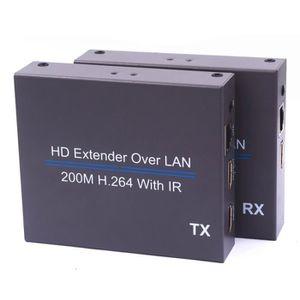 CÂBLE TV - VIDÉO - SON NK-E200IR Extendeur H.264 HD de 200 m sur réseau l