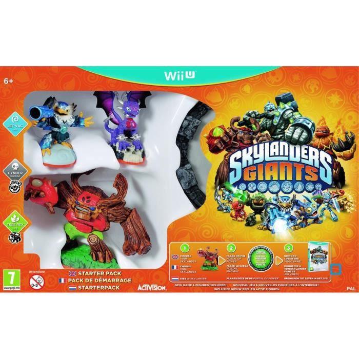 Starter Pack Skylanders Giants Wii U