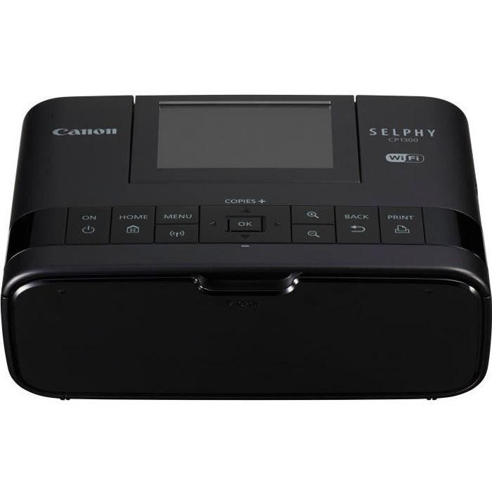 CANON Imprimante Selphy CP1300 - Thermique par sublimation - WiFi - Noire