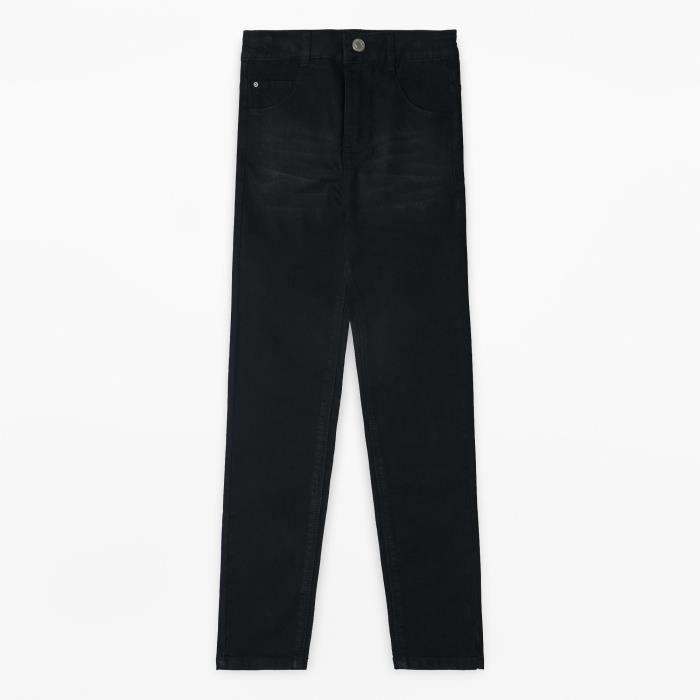 ESPRIT Pantalon Jean Denim Noir Enfant Fille