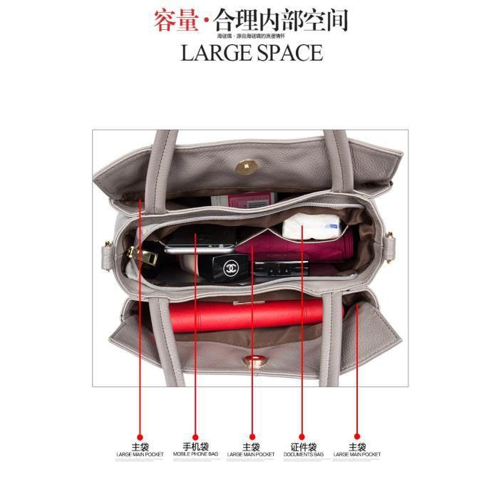 Sac à main sacs de mode Forfait de loisirs Femme Sacs Toutes les Saisons Polyuréthane Cabas pour Décontracté Sports Rose410