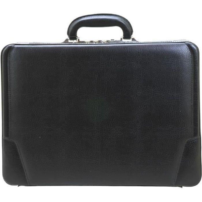Attaché-case Pondichery 47 cm Noir 46 NOIR
