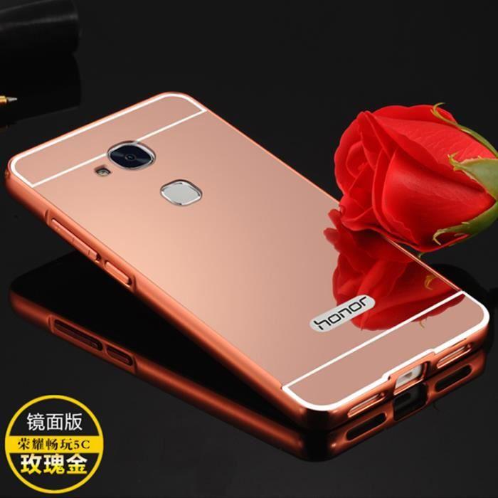 coque huawei rose