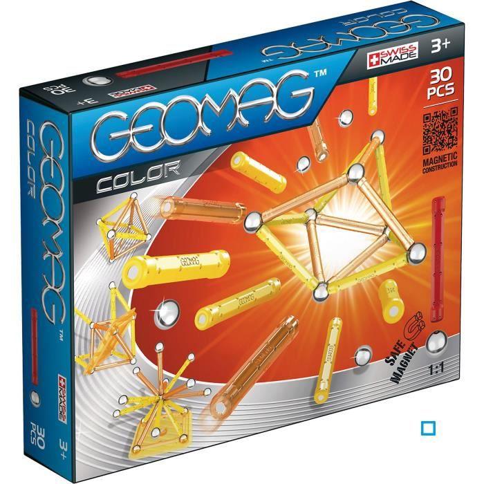 GEOMAG COLOR Jeu de Construction Magnétique 30 pcs - Achat / Vente assemblage construction ...