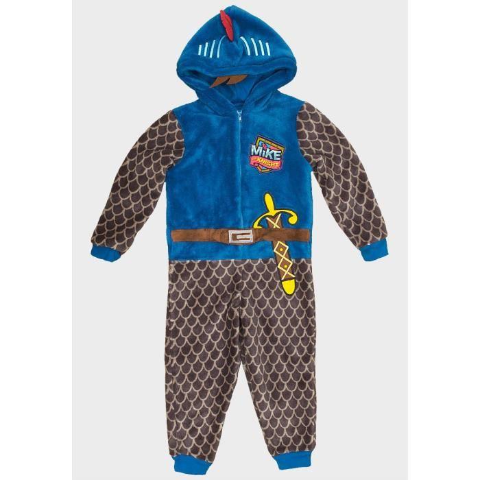 ff14a19b258ad Surpyjama Mike le chevalier 3 - 4 ans combinaison pyjama enfants ...