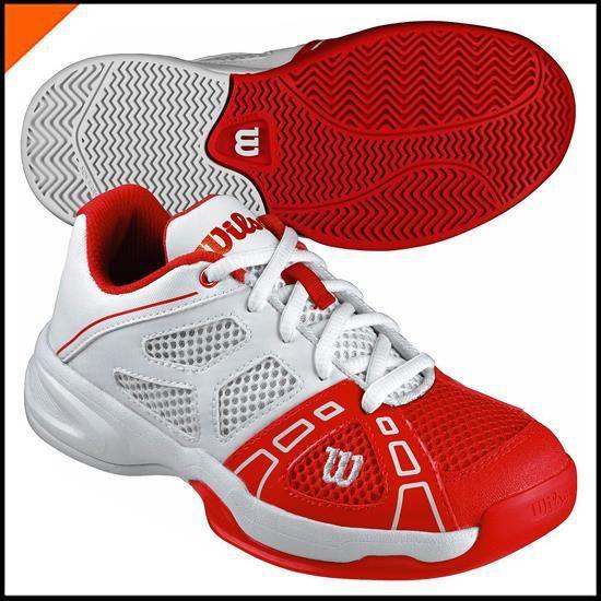 BASKET Basket RUSH PRO JR 2 Rouge-Blanc WRS317930