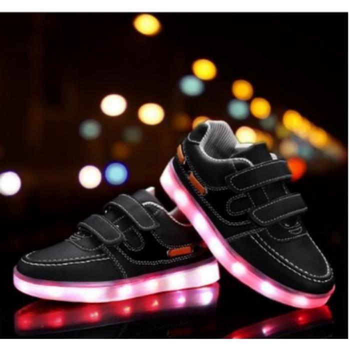 Sneakers Boy enfants - filles de chargement led