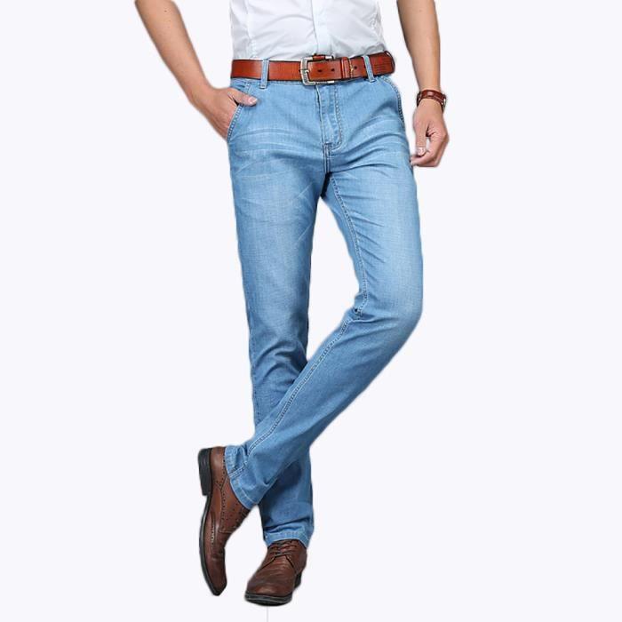 Pantalon jean bleu clair