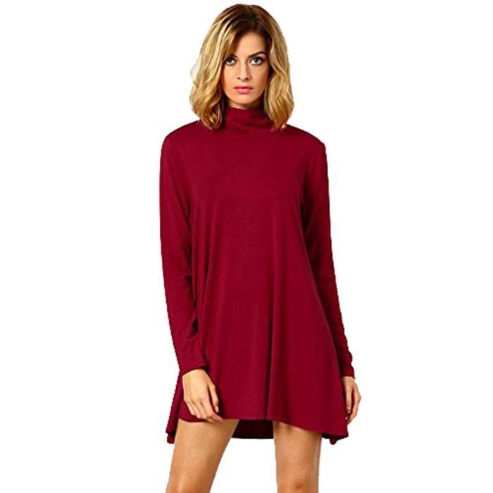 Craze womens bloc de couleur robe moulante au crayon, xs-5xl DH6KQ