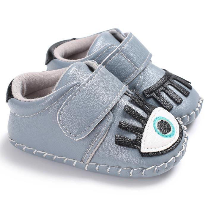1e74c900dff3f ... marche pour bébé Chaussures arcs. BOTTINE BOTTE Chaussures de crèche  souples de ...