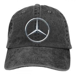 CASQUETTE Mode Cowboys de baseball réglable logo Mercedes-Be