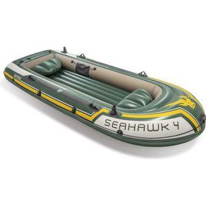 ANNEXE GONFLABLE Kit bateau gonflable Seahawk 4 avec rames et gonfl