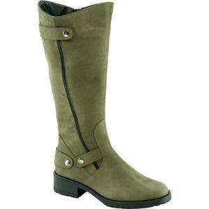 BOTTE MOON - Bottes Motardes semelles crantées Chaussure