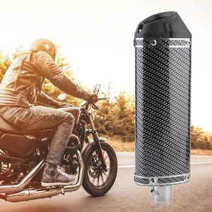 SILENCIEUX POUR POT Silencieux Pour Moto Fibre De Carbone 38mm