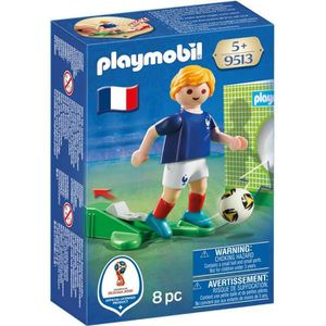 FIGURINE - PERSONNAGE Nouveauté 2018 - Playmobil 9513 - Joueur de foot F