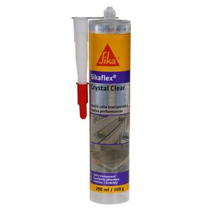 COLLE - PATE FIXATION SIKA Mastic-colle - Transparent - Multi-usages - 2