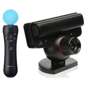 PACK ACCESSOIRE Move Motion et caméra PS3