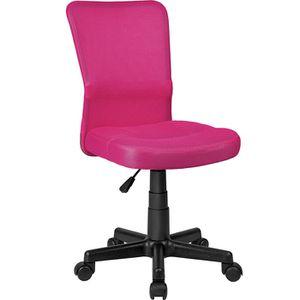 fauteuil de bureau rose achat vente fauteuil de bureau rose pas cher cdiscount. Black Bedroom Furniture Sets. Home Design Ideas