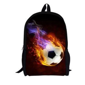 SAC À DOS Cartable sac à dos football designs unisexe 17 31dcae7a125