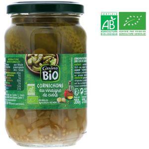 CORNICHON Cornichons au vinaigre de cidre bio - Pasteurisés