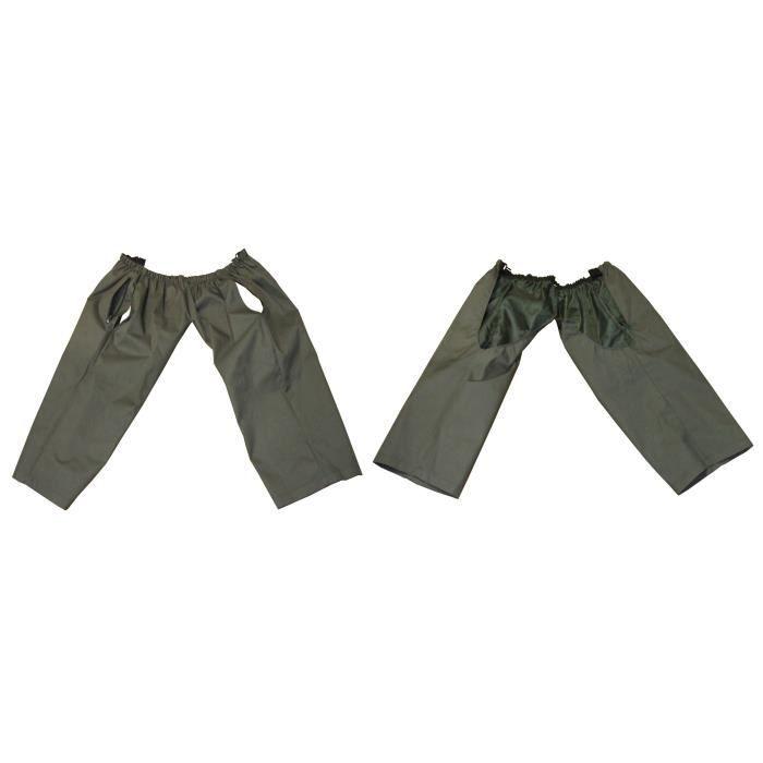 TERRITOIRE CHASSE Sur-pantalon étanche & coupe-vent - 1 poche plaquée