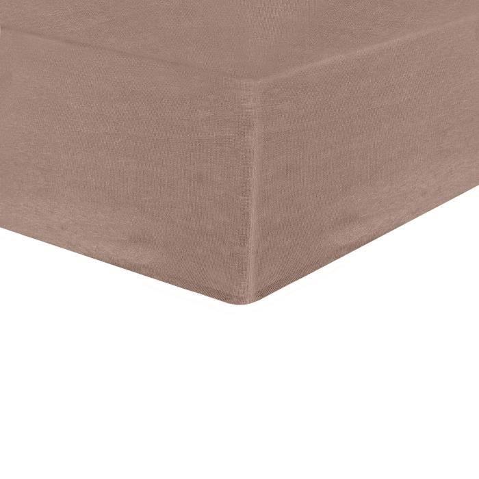TROIS KILOS SEPT Drap housse - 40x80 cm - TaupeDRAP HOUSSE MATELAS