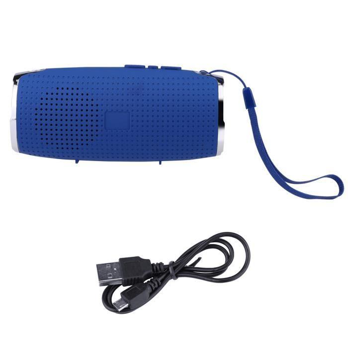 Fd-3 Usb Big Basse Haut-parleur Portable Sans Fil Bluetooth Mains Libres Support De Carte Tf_r1928