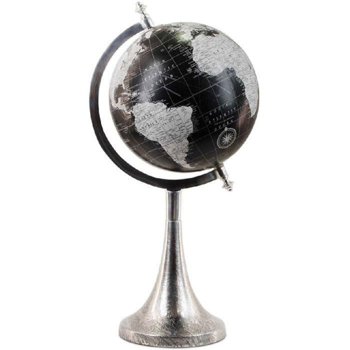 globe terrestre en metal achat vente jeux et jouets pas chers. Black Bedroom Furniture Sets. Home Design Ideas