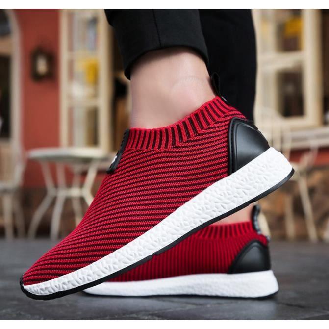 occasionnels chaussures de maille pour tissée hommes de sport course mouche hommesChaussures wZHcFxIaqF
