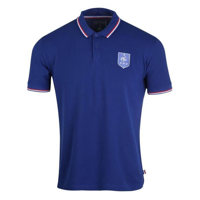 Equipe de FRANCE de football Polo FFF - Collection officielle Taille adulte homme S MrdUyZBGxl