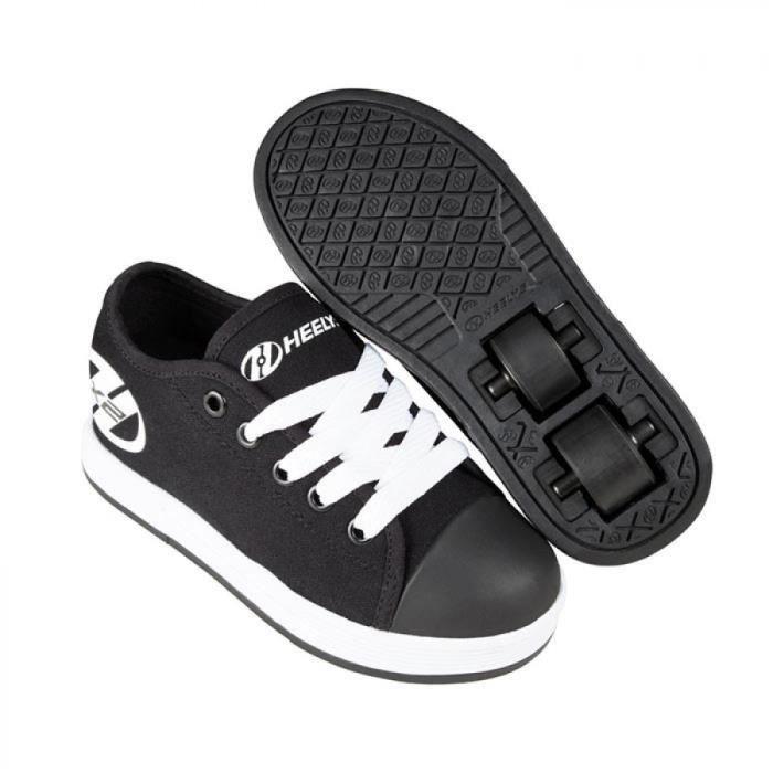 Heelys chaussure à roulette x2 fresh 100140 noir blanc-38